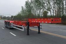 华骏10.9米35吨3轴集装箱运输半挂车(ZCZ9400TJZJ)