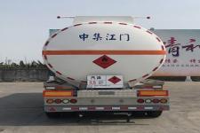 中集牌ZJV9401GYYJMA型铝合金运油半挂车图片