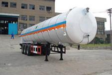 鲁征12.6米24.7吨3轴低温液体运输半挂车(ZBR9400GDY)