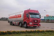 国五重汽40方粉粒物料运输车
