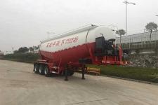 东润9.1米31.6吨3下灰半挂车