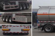 程力威牌CLW9401GSY型食用油运输半挂车图片