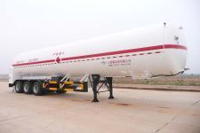 五峰13米23吨3轴低温液体运输半挂车(JXY9390GDY)