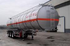 万事达11.6米33.4吨3轴铝合金易燃液体罐式运输半挂车(SDW9405GRYA)