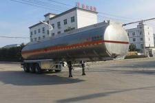 特运牌DTA9407GYY型铝合金运油半挂车