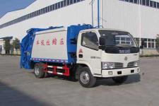 国五东风轻卡压缩式垃圾车