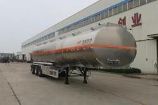 特运牌DTA9402GYY型铝合金运油半挂车