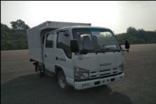 五十铃牌QL5040XXYA6EW型厢式运输车