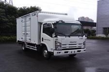 庆铃国五单桥厢式运输车98马力5吨以下(QL5044XXYA6HA)