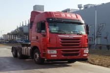 解放后双桥,后八轮平头柴油牵引车379马力(CA4257P2K15T1E5A80)