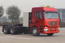 陕汽后双桥,后八轮危险品牵引车336马力(SX4258GV384TLW)
