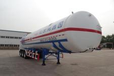 兴鸿昌13米21.2吨3轴低温液体运输半挂车(HCT9370GDY)