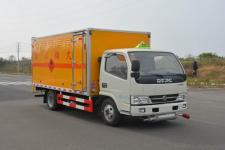 东风国五4米2易燃气体厢式运输车