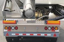 中集牌ZJV9400GYWJM型氧化性物品罐式运输半挂车图片