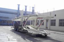 梁山东岳12米8.8吨2轴中置轴车辆运输挂车(CSQ9160TCL)