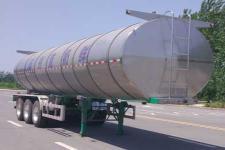 鸿天牛10.6米32.5吨3轴鲜奶运输半挂车(HTN9401GNY)