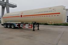 鲁征13米22.3吨3轴低温液体运输半挂车(ZBR9382GDY)