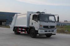 国五东风8方压缩式垃圾车价格