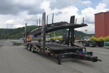 鑫华驰12米9吨2轴中置轴车辆运输挂车(THD9170TCL)