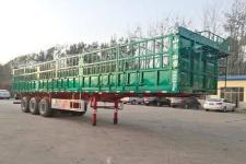 华鲁业兴12米33.4吨3仓栅式运输半挂车