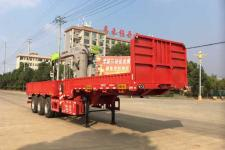 成星11.2米29.6吨3轴随车起重运输半挂车(HCX9400JSQ)