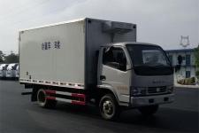4米厢长东风多利卡程力汽车生产冷藏车价格
