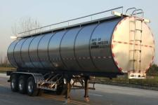 鸿天牛10.6米32.2吨3轴鲜奶运输半挂车(HTN9402GNY)
