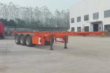 皖汽汽车10.2米35.2吨3轴危险品罐箱骨架运输半挂车(CTD9406TWY)