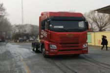 解放后双桥,后八轮平头柴油牵引车424马力(CA4250P25K2T1E5A80)