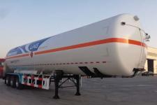 韩中深冷13.2米24.2吨3轴低温液体运输半挂车(ZHJ9408GDYD)