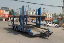 梁山东岳12米9.7吨2轴中置轴车辆运输挂车(CSQ9170TCL)
