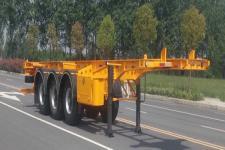 广大鸿远10.2米35.3吨3轴危险品罐箱骨架运输半挂车(GHY9403TWY)