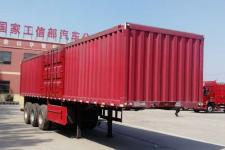 庄宇牌ZYC9401XXYA型厢式运输半挂车图片