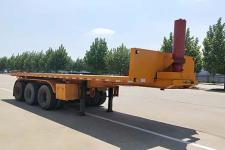 光亚通达8米31.5吨3轴平板自卸半挂车(JGY9400ZZXP)