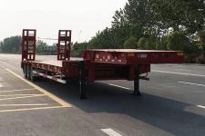 华骏13.8米28.5吨3轴低平板半挂车(ZCZ9400TDPJ)