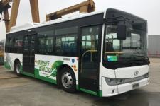 8.5米|15-30座金龙插电式混合动力城市客车(XMQ6850AGCHEVD55)