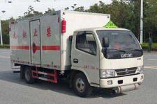 程力威牌CLW5076XRQ5型易燃气体厢式运输车