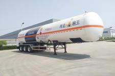 驹王13米24.2吨3轴低温液体运输半挂车(ZJW9400GDY)