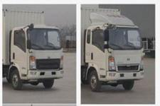 豪沃牌ZZ2047XXYC2824E145型越野厢式运输车图片