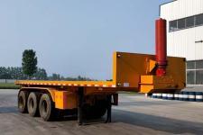 汇多通8米32.3吨3轴平板自卸半挂车(TJH9400ZZXP)