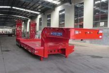 杨嘉12.5米24.5吨6轴低平板半挂车(LHL9380TDPA)