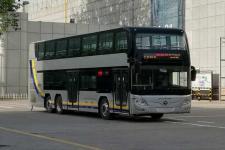 12.4米|38-68座福田插电式混合动力双层城市客车(BJ6128SHEVCA-3)