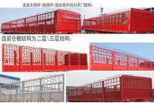 鑫鑫盛通牌XXT9402CCY型仓栅式运输半挂车图片