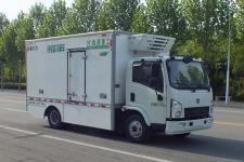 森源7吨纯电动冷藏车