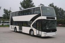 宇通牌ZK6116HNGS2型双层城市客车图片