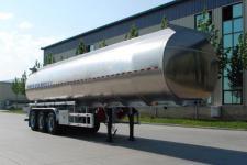 金碧11.9米33.3吨3轴铝合金食用油运输半挂车(PJQ9401GSY)