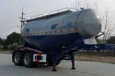 开乐7.3米28吨2轴干拌砂浆运输半挂车(AKL9350GSJ)