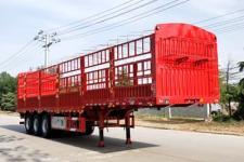 坤博12米33.5吨3仓栅式运输半挂车