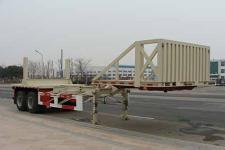 中集10米28.1吨2轴油田井管运输半挂车(ZJV9350TJGYK)