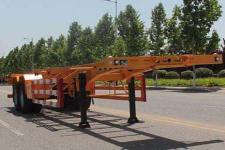 五岳12.4米30.5吨2轴集装箱运输半挂车(TAZ9354TJZ)